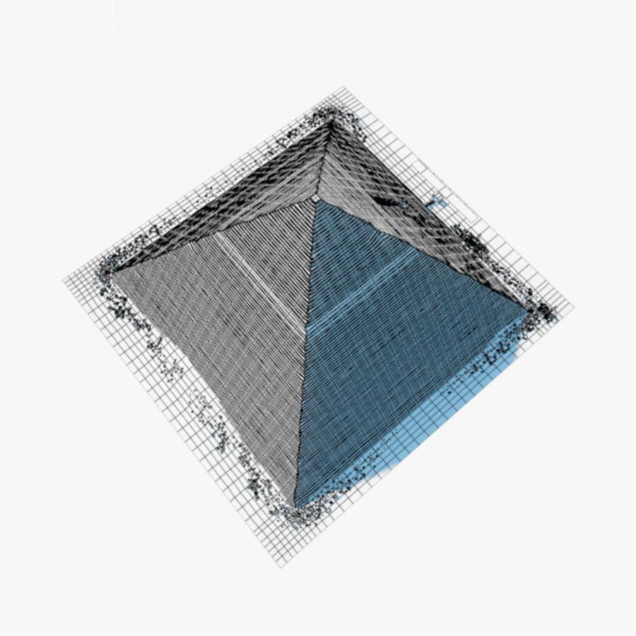 Пирамида Менкаура royalty-free 3d model - Preview no. 21