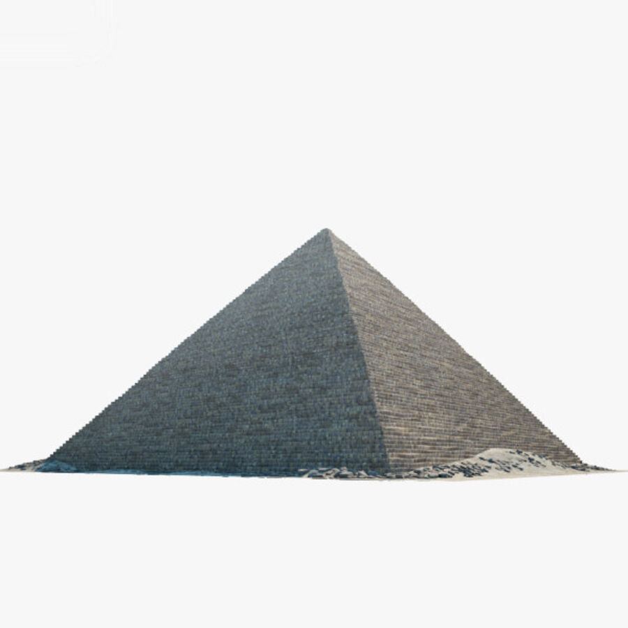 Menkaure-pyramiden royalty-free 3d model - Preview no. 16
