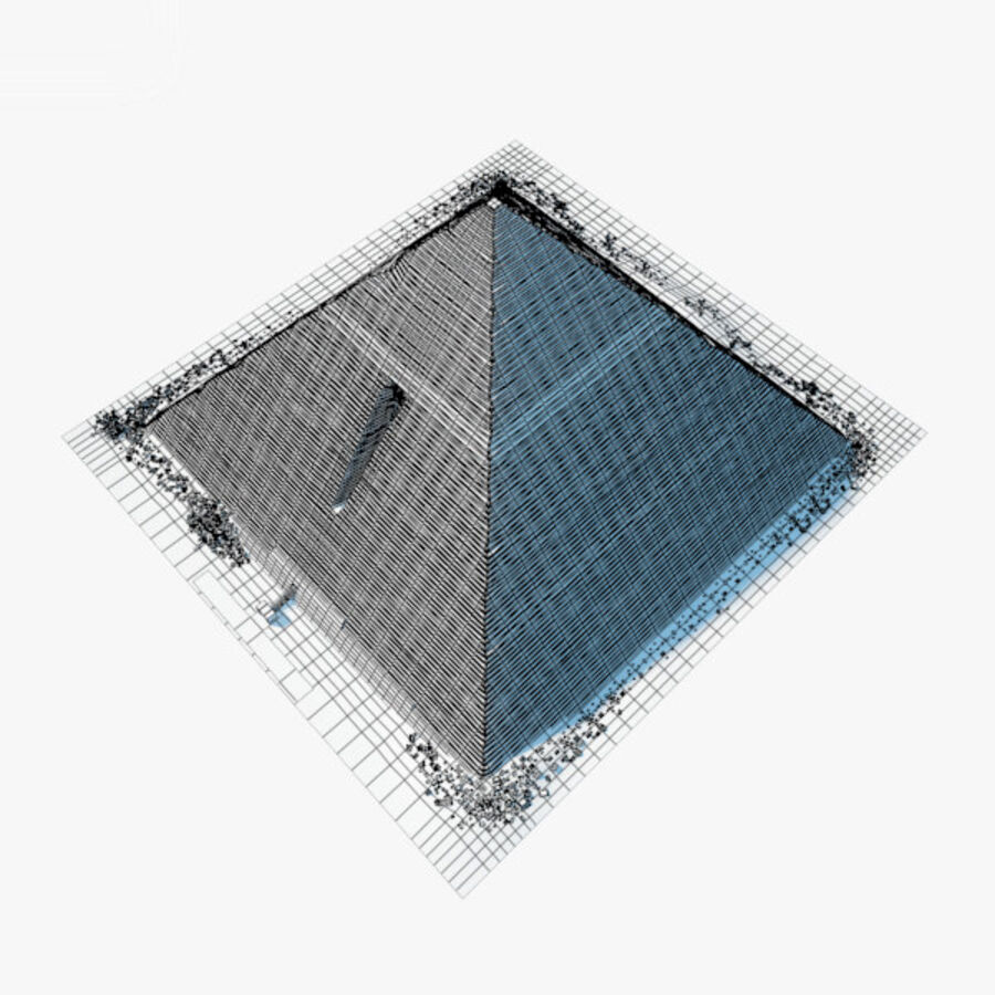 Menkaure-pyramiden royalty-free 3d model - Preview no. 19