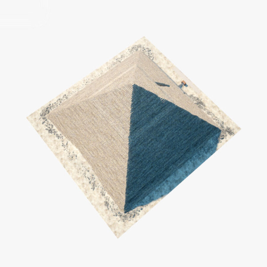 Menkaure-pyramiden royalty-free 3d model - Preview no. 20