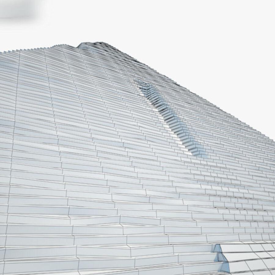 Пирамида Менкаура royalty-free 3d model - Preview no. 13