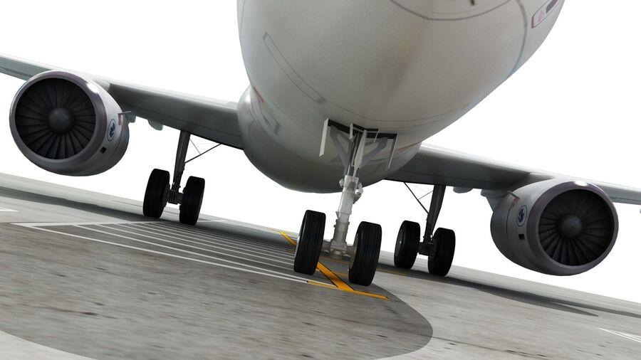 Avión y Jetway del aeropuerto royalty-free modelo 3d - Preview no. 18