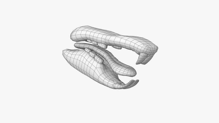 Rat sans poils royalty-free 3d model - Preview no. 24