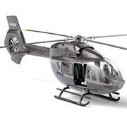 AIRBUS H145 Business - śmigłowiec cywilny (pełne wnętrze) 3d model