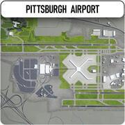 ピッツバーグ国際空港 3d model
