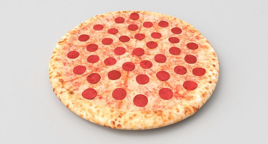 Pizza 3D Model royalty-free 3d model - Preview no. 6