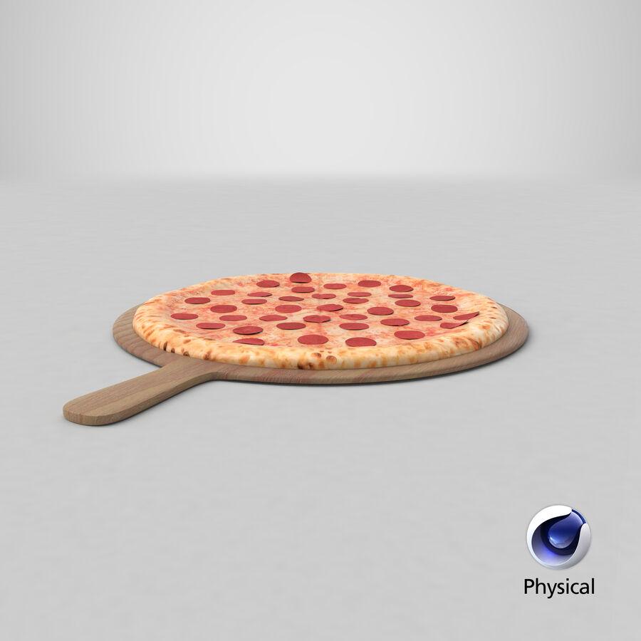 Pizza 3D Model royalty-free 3d model - Preview no. 18