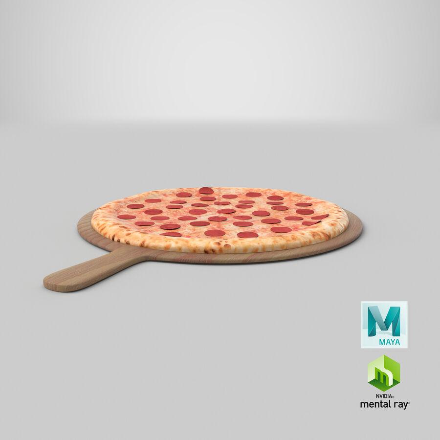 Pizza 3D Model royalty-free 3d model - Preview no. 15
