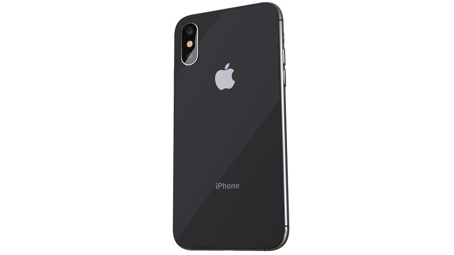 iPhone XおよびiPhone X royalty-free 3d model - Preview no. 21
