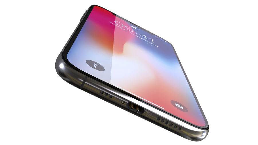 iPhone XおよびiPhone X royalty-free 3d model - Preview no. 28
