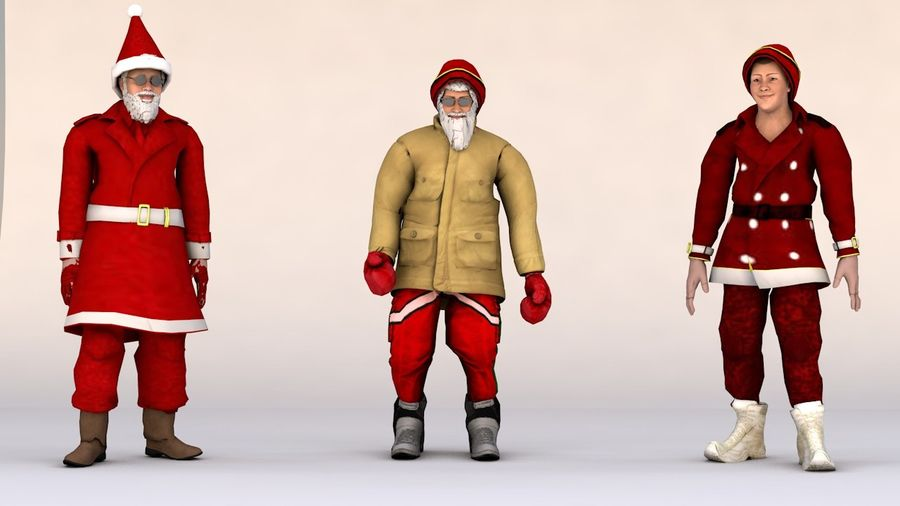 Noel Baba royalty-free 3d model - Preview no. 1