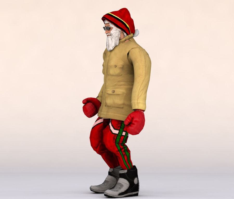 Noel Baba royalty-free 3d model - Preview no. 5