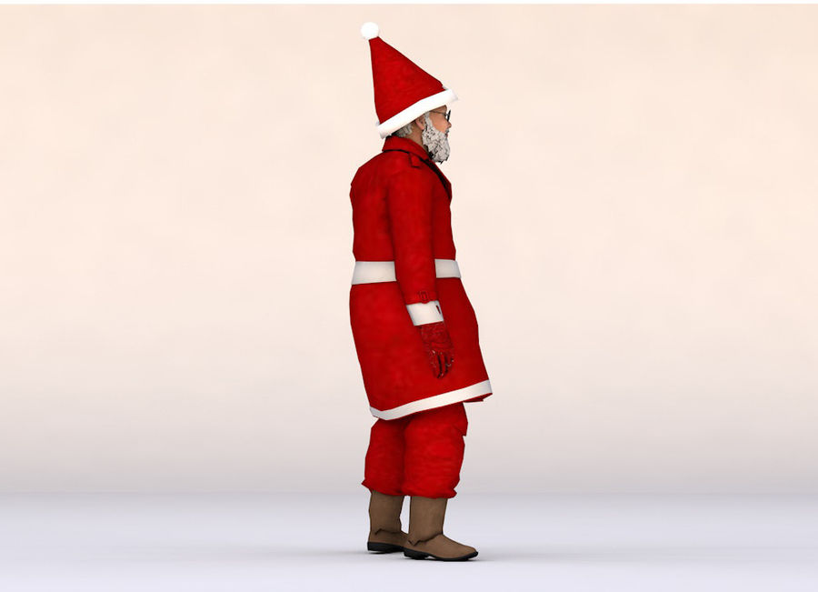 Noel Baba royalty-free 3d model - Preview no. 7