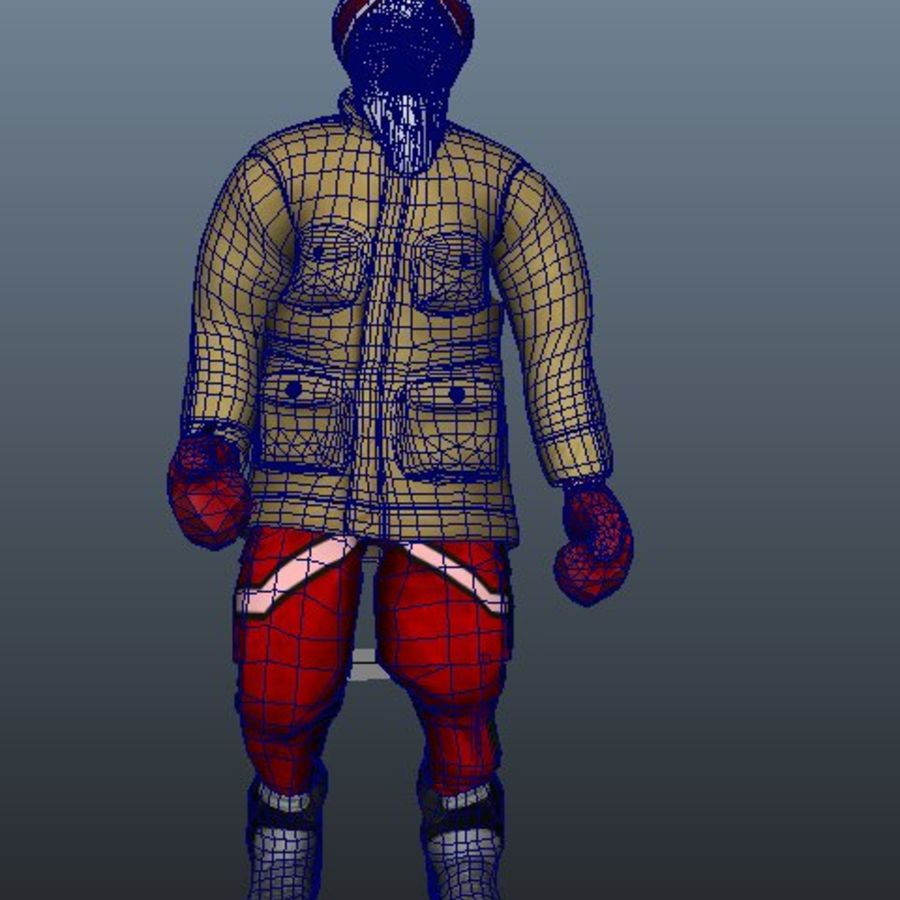 Noel Baba royalty-free 3d model - Preview no. 10