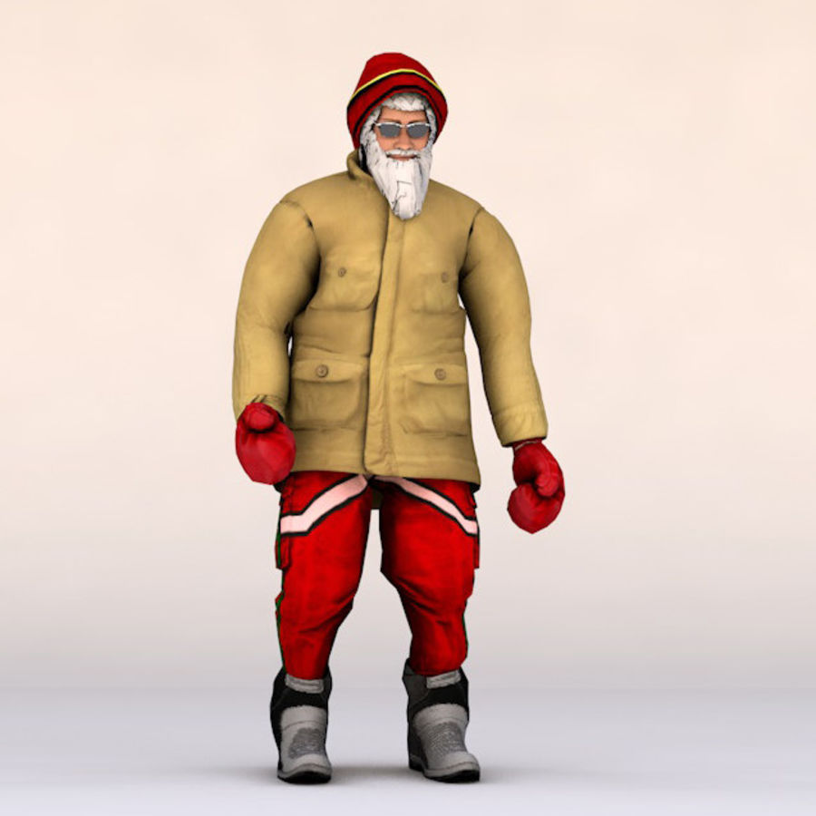 Noel Baba royalty-free 3d model - Preview no. 2