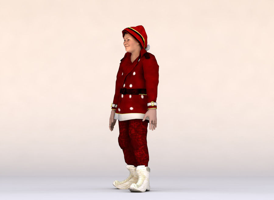 Noel Baba royalty-free 3d model - Preview no. 6