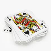 Playing Cards(1) 3d model