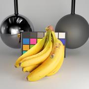 Bunch of bananas 32 3d model