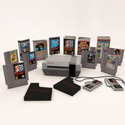 Gry Nintendo Entertainment System Plus 3d model