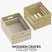 木箱コレクション 3d model