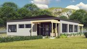 Revit - Ranch House 3d model