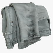 Jeans grigio V10 3d model
