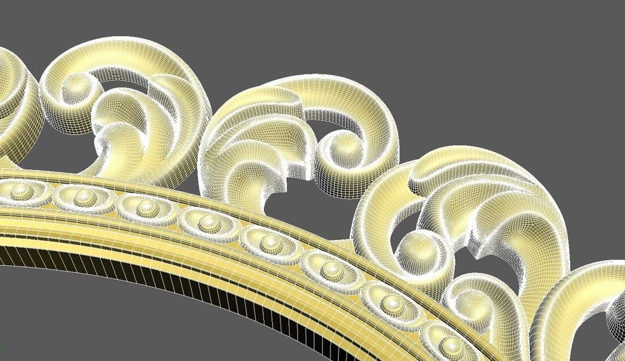 Frame 111 royalty-free 3d model - Preview no. 6