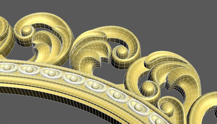 Frame 111 royalty-free 3d model - Preview no. 7
