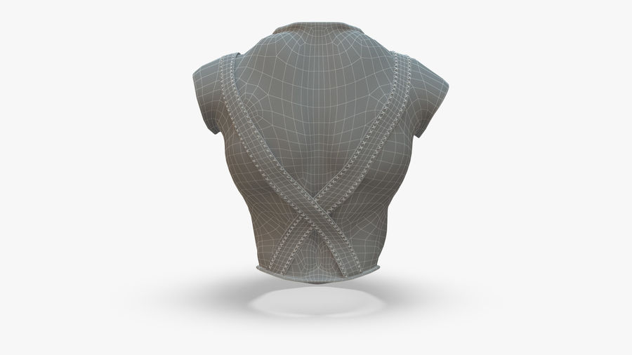 Body Armor royalty-free 3d model - Preview no. 11