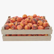 Peaches 01-04 Wooden Crate 3d model