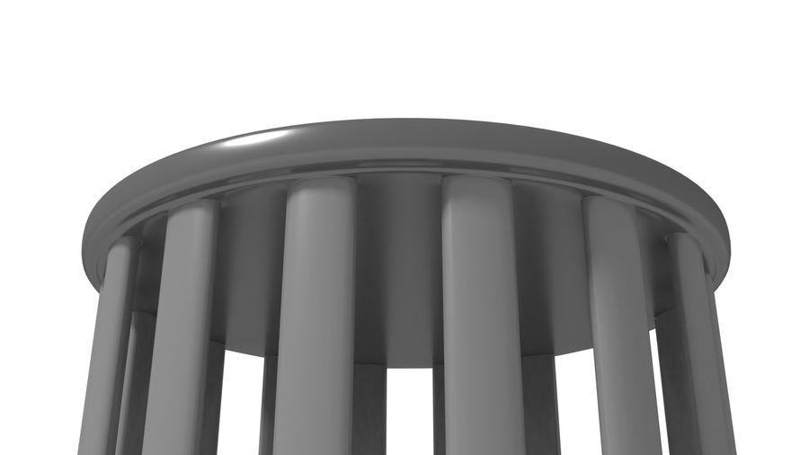 Bur royalty-free 3d model - Preview no. 3