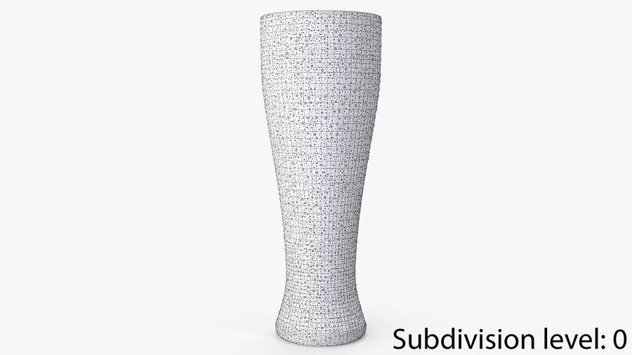 Vaso de cerveza royalty-free modelo 3d - Preview no. 8