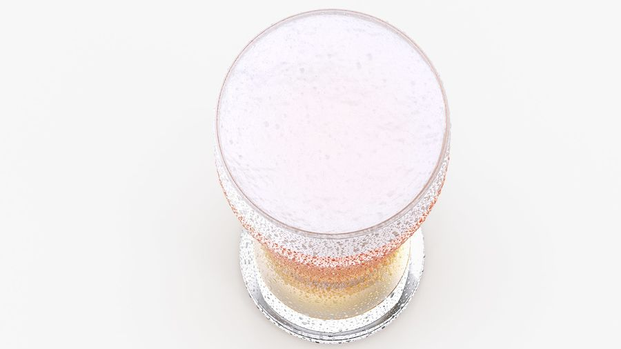 Vaso de cerveza royalty-free modelo 3d - Preview no. 6