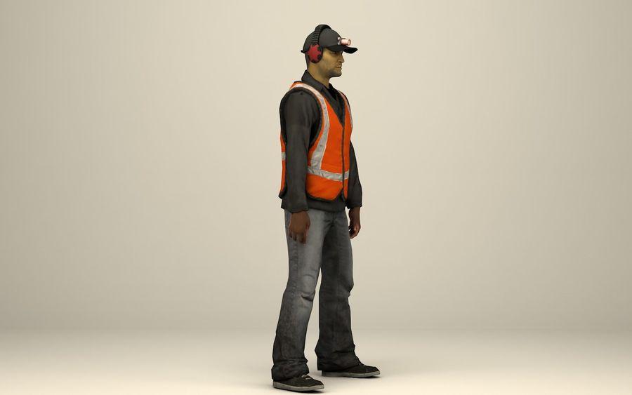 Operaio delle caverne royalty-free 3d model - Preview no. 5