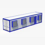 Container Station 3d model