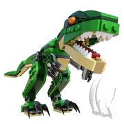 レゴマイティ恐竜 3d model