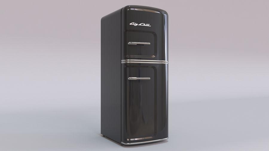 Big Chill Slim Fridge royalty-free 3d model - Preview no. 19