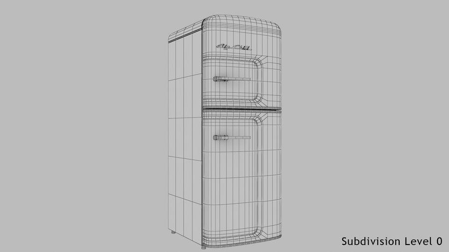 Big Chill Slim Fridge royalty-free 3d model - Preview no. 20