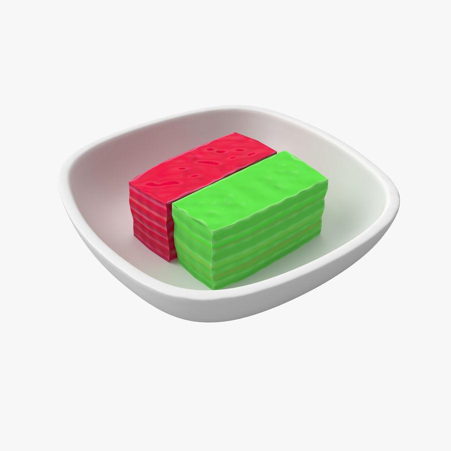 Dessert Khanom Chan royalty-free 3d model - Preview no. 1