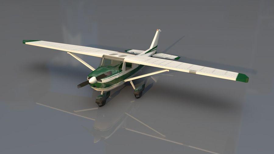 Avión Jet Cessna Business royalty-free modelo 3d - Preview no. 1