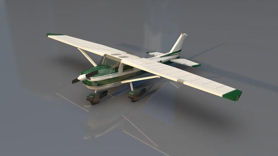 Avión Jet Cessna Business royalty-free modelo 3d - Preview no. 16