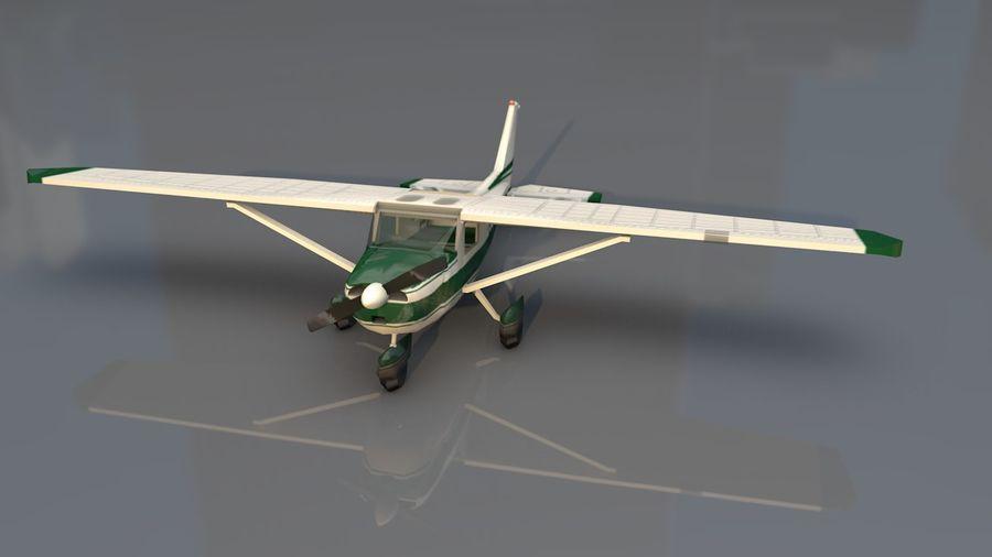 Avión Jet Cessna Business royalty-free modelo 3d - Preview no. 2