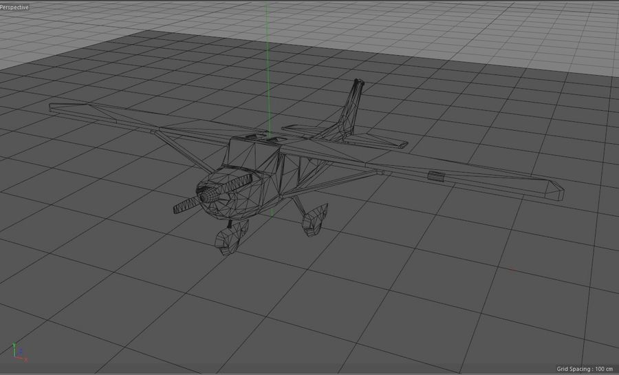 Avión Jet Cessna Business royalty-free modelo 3d - Preview no. 18