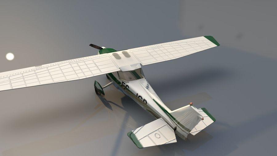 Avión Jet Cessna Business royalty-free modelo 3d - Preview no. 11