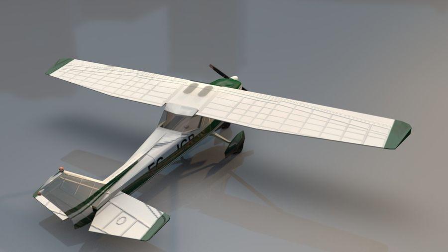 Avión Jet Cessna Business royalty-free modelo 3d - Preview no. 9