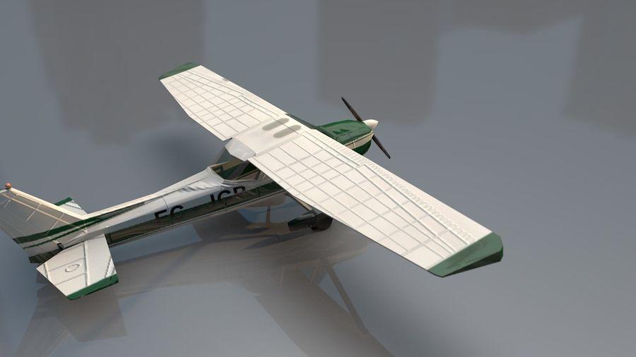 Avión Jet Cessna Business royalty-free modelo 3d - Preview no. 8