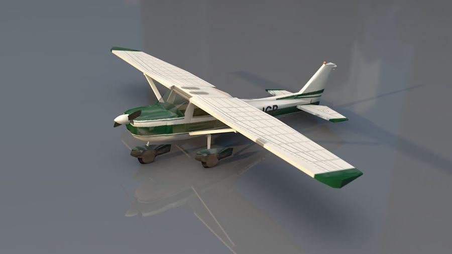 Avión Jet Cessna Business royalty-free modelo 3d - Preview no. 15