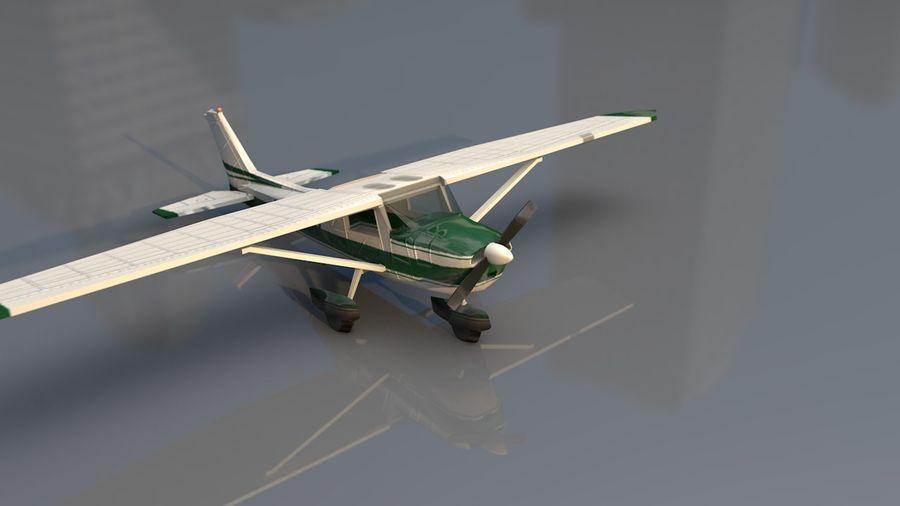 Avión Jet Cessna Business royalty-free modelo 3d - Preview no. 5