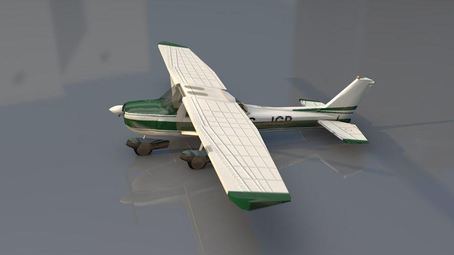 Avión Jet Cessna Business royalty-free modelo 3d - Preview no. 14