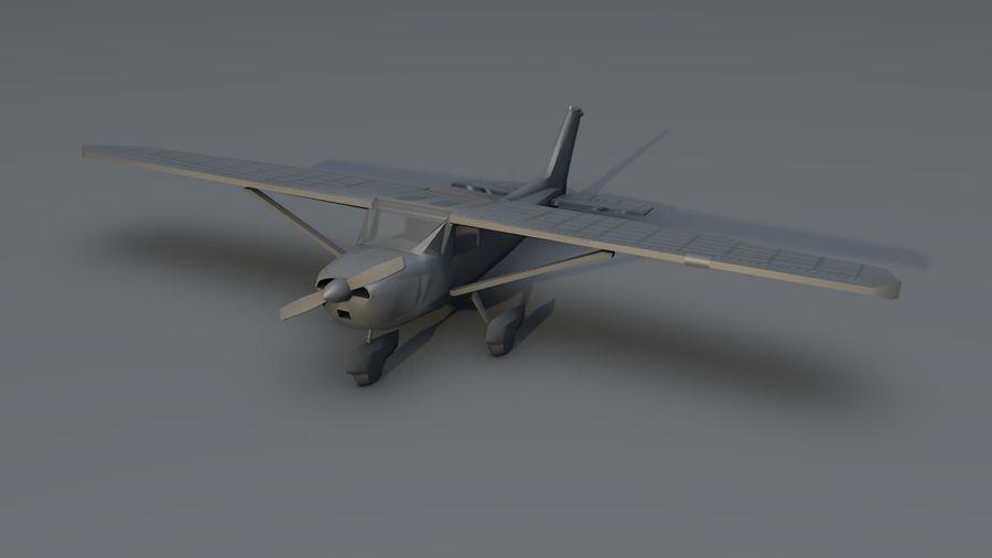 Avión Jet Cessna Business royalty-free modelo 3d - Preview no. 17